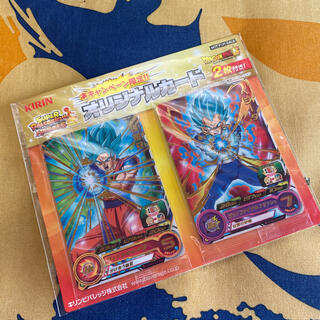 BANDAI - キリン スーパードラゴンボールヒーローズ オリジナルカード 2枚