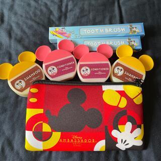 ミッキーマウス(ミッキーマウス)の東京ディズニーアンバサダーホテルアメニティー(キャラクターグッズ)