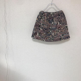 アクシーズファム(axes femme)のゴブラン 織り スカート グリモワール ティーカップ キャット 台形(ミニスカート)