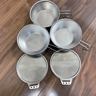 シンフジパートナー(新富士バーナー)のSOTO Gaobabu シェラカップ リッド(食器)