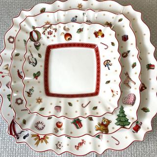 ビレロイアンドボッホ(ビレロイ&ボッホ)のビレロイ&ボッホ    クリスマスプレート3種(食器)