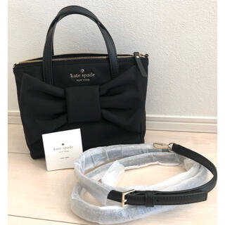 kate spade new york - ⭐︎kate spade ビックリボン  ナイロンバッグ2way