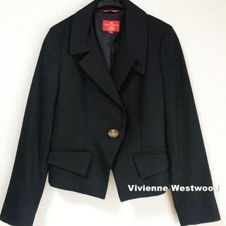 ヴィヴィアンウエストウッド(Vivienne Westwood)の【Vivienne Westwood】ビックORBボタン スペンサージャケット(テーラードジャケット)