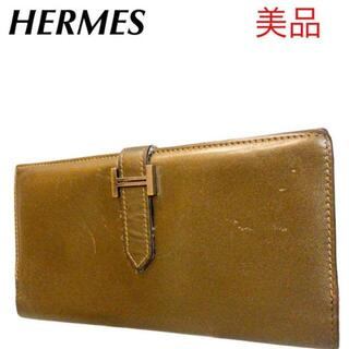 Hermes - ✨ HERMES✨エルメス 2つ折り長財布 ベアンスフレ