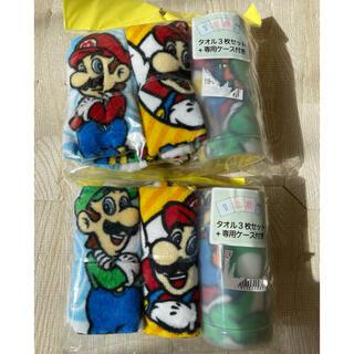 任天堂 - スーパーマリオ ハンドタオル おしぼり 6枚