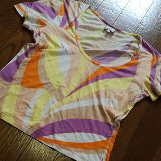 ジャンニヴェルサーチ(Gianni Versace)の3 A 美品 ヴェルサーチ カットソー 半袖(Tシャツ(半袖/袖なし))