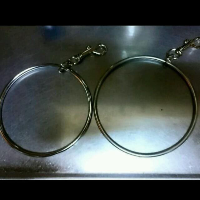 ベルト付♥特大150mmリングtogaニューエラvetements好きに メンズのアクセサリー(リング(指輪))の商品写真