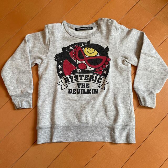 HYSTERIC MINI(ヒステリックミニ)のヒスミニ トレーナー スウェット 90 ヒステリックミニ キッズ/ベビー/マタニティのキッズ服男の子用(90cm~)(Tシャツ/カットソー)の商品写真