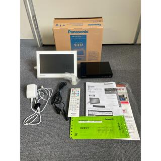 Panasonic - パナソニック ポータブルテレビ UN-10T5 別売リモコン付