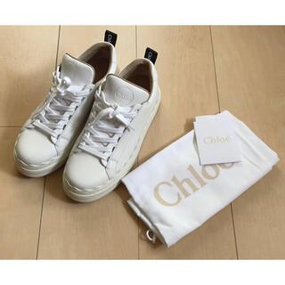 Chloe - ☆安値半額以下![クロエ]スニーカー 白 36☆