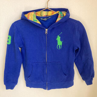 ポロラルフローレン(POLO RALPH LAUREN)のポロラルフローレン パーカー 120 ブルー(ジャケット/上着)