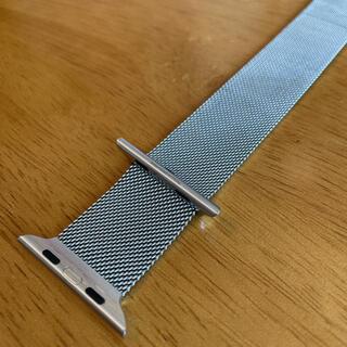 アップルウォッチ(Apple Watch)のApple*Watch*ミラネーゼループ*42mm*シルバー*純正(その他)
