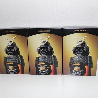 ニッカウヰスキー - ニッカ ウイスキー 兜 3本セット ニッカ G&G