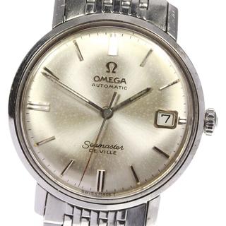 オメガ(OMEGA)のオメガ シーマスター デビル アンティーク デイト  メンズ 【中古】(腕時計(アナログ))