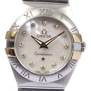 オメガ(OMEGA)のオメガ コンステレーション ブラッシュ レディース 【中古】(腕時計)