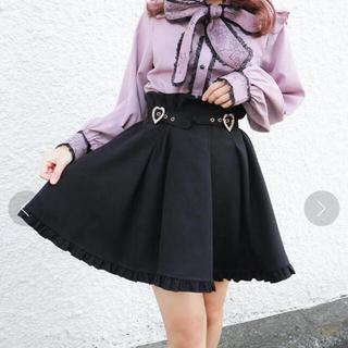 ロジータ(ROJITA)のロジータ ROJITA 裾フリルハートビジュバックルスカート (ミニスカート)
