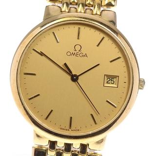 オメガ(OMEGA)のオメガ デビル デイト ライスブレスレット  クォーツ メンズ 【中古】(腕時計(アナログ))