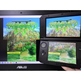 ニンテンドー3DS - ゲーム実況配信用『キャプチャー機能付き 3DSLL モンハン限定本体』 偽トロ