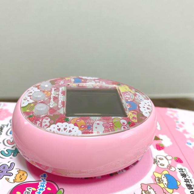 BANDAI(バンダイ)のたまごっちみーつ サンリオ エンタメ/ホビーのゲームソフト/ゲーム機本体(携帯用ゲーム機本体)の商品写真