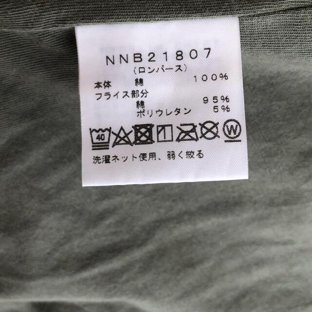 THE NORTH FACE(ザノースフェイス)のノースフェイス ロンパース 70cm キッズ/ベビー/マタニティのベビー服(~85cm)(ロンパース)の商品写真