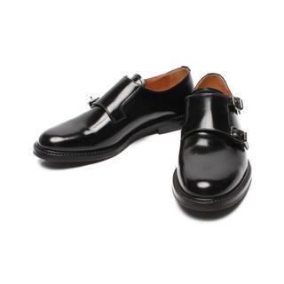 チャーチ(Church's)の美品 チャーチ LORA R ダブルモンク レザーシューズ レディース 37(ローファー/革靴)