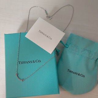 Tiffany & Co. - ティファニー ティースマイルペンダント ネックレス ピンク 限定 Tiffany