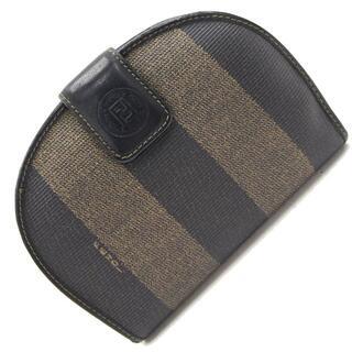 フェンディ(FENDI)の フェンディ 二つ折り財布 ペカン カーキ ダークブラウン(財布)