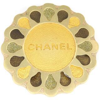 シャネル(CHANEL)の 【中古】シャネル ブローチ ゴールドカラー 99A刻印(コサージュ/ブローチ)