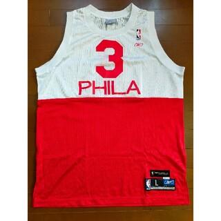 リーボック(Reebok)のNBA Philadelphia 76ers IVERSON ジャージ(ジャージ)