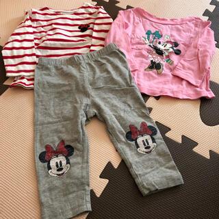 ベビーギャップ(babyGAP)のbaby GAP サイズ70の3着セット ディズニー(Tシャツ)