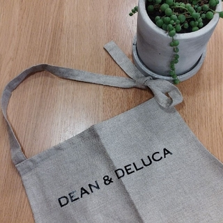 DEAN & DELUCA - DEAN & DELUCA  ディーン&デルーカリネンフルエプロン ナチュラル