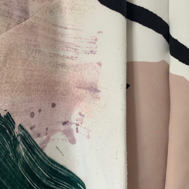 Ameri VINTAGE(アメリヴィンテージ)のAMERI VINTAGE マリーペインティングスカート レディースのスカート(ロングスカート)の商品写真