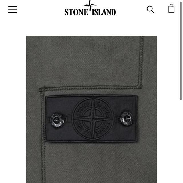 STONE ISLAND(ストーンアイランド)のstone island   shadow projectスウェット   メンズのトップス(スウェット)の商品写真