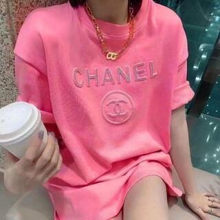 CHANEL超人気のルーズTシャツ 4色 10,000円2枚