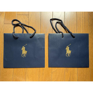 ポロラルフローレン(POLO RALPH LAUREN)のポロラルフローレン ショップ袋 2枚(ショップ袋)
