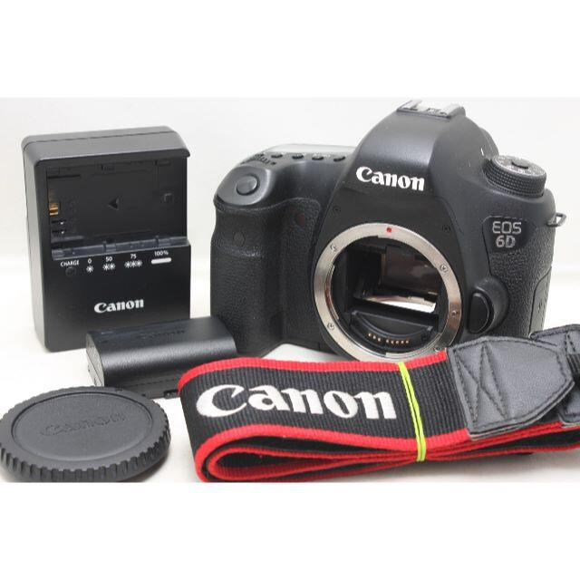Canon(キヤノン)の★軽量フルサイズ★ キヤノン EOS 6D ボディ スマホ/家電/カメラのカメラ(デジタル一眼)の商品写真