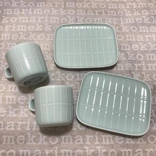 マリメッコ(marimekko)の新品 マリメッコ TIILISKIVI 食器セット(食器)