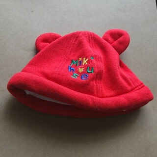 ミキハウス(mikihouse)のミキハウス baby帽子 (帽子)