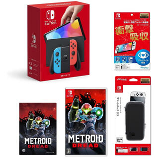 Nintendo Switch - 任天堂 Switch 有機EL セット 新品未開封