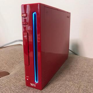 任天堂 - Wii本体 赤 マリオ25周年バージョン 限定カラー ジャンク品