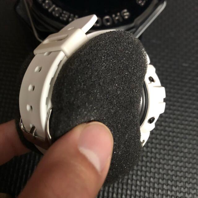 G-SHOCK(ジーショック)の1点物 カスタム純正 CASIO Gショック DW-6900 ホワイト 白 メンズの時計(腕時計(デジタル))の商品写真