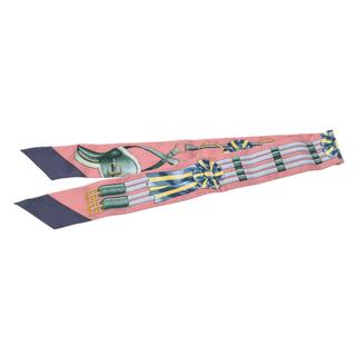 エルメス(Hermes)のエルメス  ツイリー スカーフ ピンク(バンダナ/スカーフ)