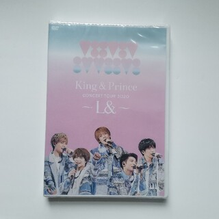 King&Prince CONCERT TOUR 2020~L&~通常盤DVD