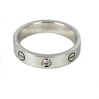 カルティエ(Cartier)のカルティエ Cartier ミニラブリング1PD リング・指輪 レディ【中古】(リング(指輪))