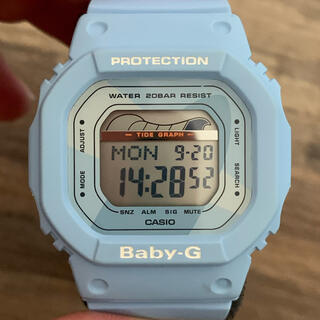 ベビージー(Baby-G)のBaby-G ペールブルー(腕時計)