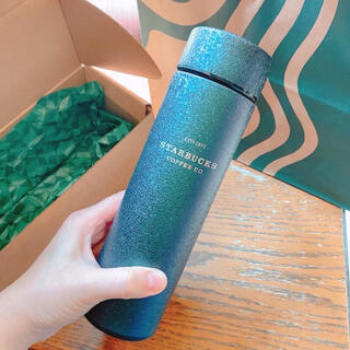 スターバックスコーヒー(Starbucks Coffee)の台湾 スターバックス 21アニバーサリー キラキラ ステンレス タンブラー(タンブラー)