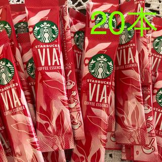 スターバックスコーヒー(Starbucks Coffee)のスターバックス クリスマスブレンド VIA コーヒー 20本 スタバ ホリデー(その他)
