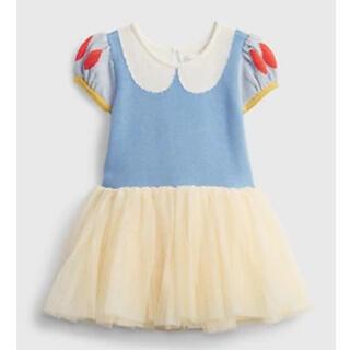 babyGAP - 赤リボン付き!baby GAP 白雪姫チュールドレス 12-18m