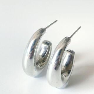 Tiffany & Co. - 【人気】ティファニー ピアス ハーフフープ SV925 シルバー Q18