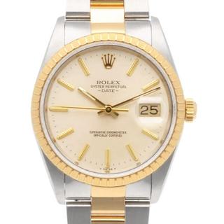 ロレックス(ROLEX)の【中古】ロレックス ROLEX 腕時計 E番 1990~1991年式  デイト(腕時計(アナログ))